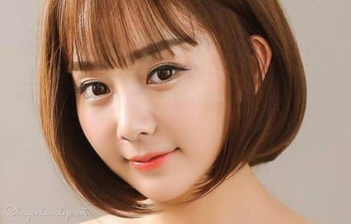 Kiểu tóc hợp với gương mặt tròn béo bạn cần biết